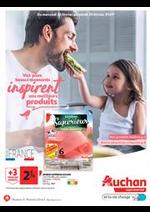 Prospectus Auchan Supermarché : Vos plus beaux moments inspirent nos meilleurs produits