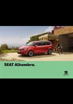 Promos et remises  : Seat Alhambra