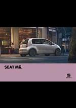 Prospectus Seat : Seat Mii
