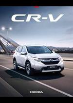 Journaux et magazines Honda France : Honda CR-V