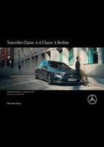 Prospectus Mercedes Benz : Mercedes-Benz Classe A et Classe A Berline