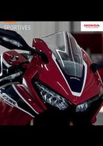 Promos et remises  : Sportives Honda