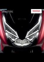Prospectus Honda France : Honda Scooters