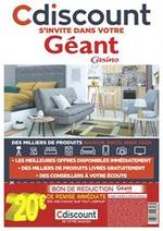 Prospectus Géant Casino : Cdiscount s'invite dans votre Géant Casino