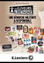 Prospectus E.Leclerc : Une démarche militante et responsable de vos magasins bretons