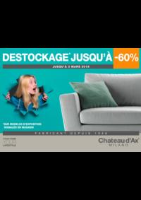 Promos et remises Chateau d'Ax : DESTOCKAGE JUSQU'A -60%