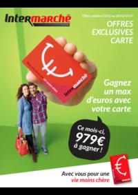 Prospectus Intermarché Anderlues : Carte Fevrier
