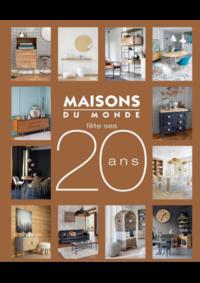 Catalogues et collections Maisons du Monde Namur - Champion : Catalogue Maisons du Monde