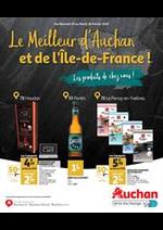 Prospectus Auchan : Le meilleur d'Auchan et de l'Ile De France