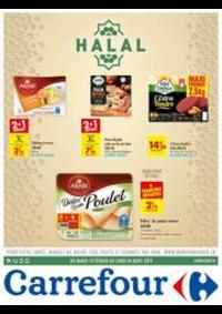 Prospectus Carrefour Drancy : halal