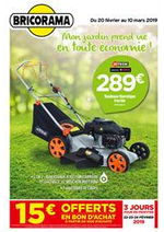 Prospectus Bricorama : Mon jardin prend vie en toute économie!