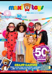 Prospectus Maxi Toys Bouge  : -50% sur le 2éme COSTUME