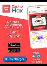 Prospectus Supermarchés Casino : Un Max de promos en exclusivité!