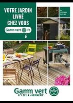 Prospectus Gamm vert : Votre jardin livré chez vous