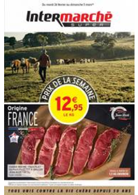 Prospectus Intermarché Super Canteleu : PRIX DE LA SEMAINE