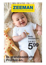Prospectus Zeeman : Collection Bébé Printemps 2019
