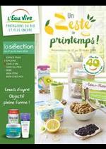 Prospectus L'eau vive : Un este de printemps!