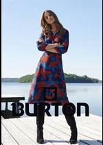 Prospectus Burton : Collection Femme