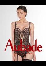 Prospectus Aubade : Nouveautés Collection