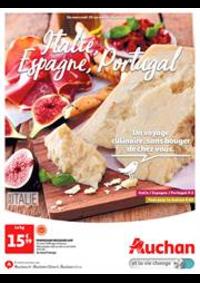 Prospectus Auchan Val d'Europe Marne-la-Vallée : Italie, Espagne, Portugal