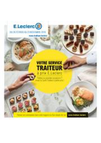 Prospectus E.Leclerc VITRY SUR SEINE : Carte traiteur permanente-dessert
