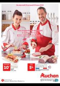 Prospectus Auchan Drive VELIZY : Nos experts se mettent à votre service pour réussir vos dîners!