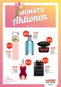 Prospectus Import Parfumerie Bern - 24 Marktgasse : Monats Aktionen