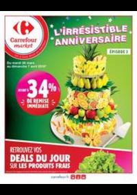 Prospectus Carrefour Market Thonon-les-Bains - Avenue Jules Ferry : L'irrésistible anniversaire 2
