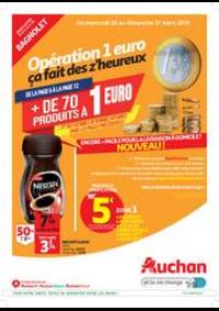 Prospectus Auchan BAGNOLET : foire 1€