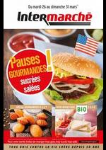 Prospectus Intermarché Super : Pauses gourmandes sucrées salées