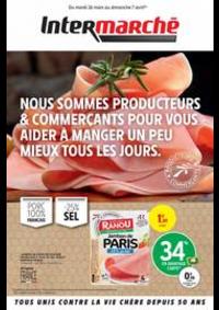 Prospectus Intermarché Super Bondy : NOUS SOMMES PRODUCTEURS & COMMERÇANTS