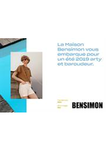 Prospectus Bensimon : Lookbook Printemps Été