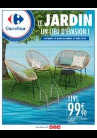 Prospectus Carrefour BESANCON Zone Commerciale Est : LE JARDIN UN LIEU D'EVASION