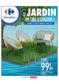 Prospectus Carrefour GENNEVILLIERS : LE JARDIN UN LIEU D'EVASION