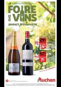 Prospectus Auchan PUTEAUX : Foire aux vins, saveurs printanières