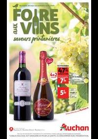 Prospectus Auchan AVRILLE : Foire aux vins, saveurs printanières