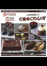 Prospectus Supermarchés Casino : La semaine du chocolat