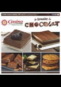 Prospectus Supermarchés Casino PARIS 26 bis et 28 Place de la Nation : La semaine du chocolat