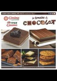 Prospectus Supermarchés Casino CARRIERES SUR SEINE : La semaine du chocolat