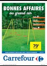 Prospectus Carrefour : Bonnes affaires au grand air !
