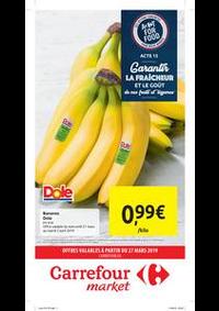 Prospectus Carrefour Market JEMAPPES : Carrefour market : offres valables à partir du 27 mars