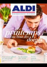 Prospectus Aldi ANDERLECHT Renard : Le printemps au bout des doigts