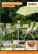 Prospectus OBI : Draussen zu Hause - Alles für Garten & Balkon