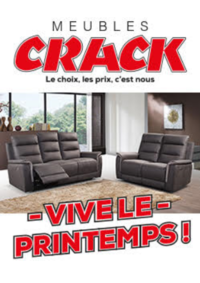 Prospectus Meubles Crack : Vive le printemps !