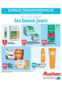 Prospectus Auchan : Au top pour les beaux jours