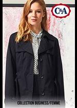 Prospectus C&A : Collection Business / Femme