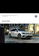 Prospectus Volkswagen : Volkswagen Golf SW