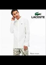 Prospectus Lacoste : Lacoste New men