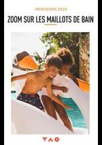 Catalogues et collections Tape à l'oeil : Zoom sur les maillots de bain Printemps 2019