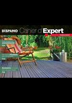 Prospectus Dispano : Cahier d'Expert - Spécial Terrasses 2019
